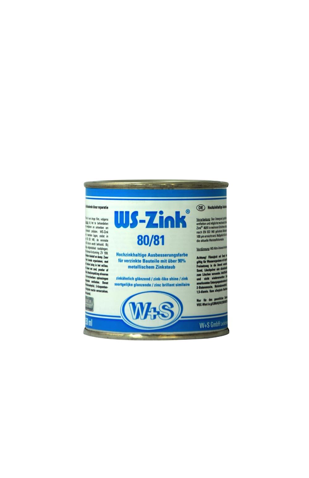 Ws Zink 8081 250ml Zinc Clair Riche En Zinc Aérosol Peinture